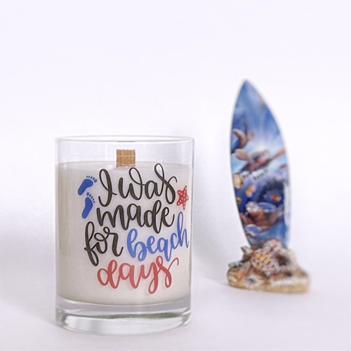 Earthen Oak soy candle 500