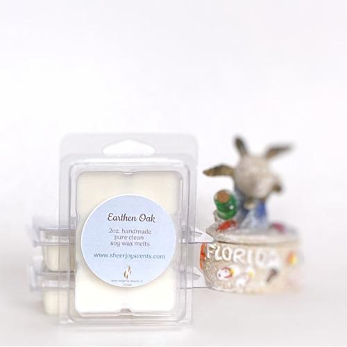 Earthen-Oak-soy-wax-melts